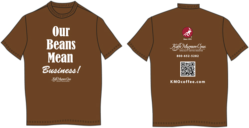 T-Shirt: Our Beans Mean Business T-Shirt: Our Beans Mean Business ...