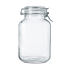 5 Liter Airtight Jar - Holds 3 lbs. of Roasted Coffee