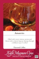 Amaretto SWP Decaf Flavored Coffee