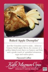 Baked Apple SWP Decaf Flavored Coffee