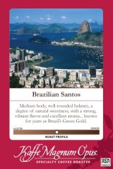 40 Pounds Brazil Santos Coffee