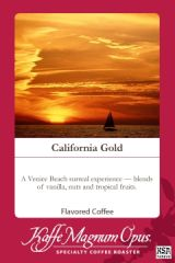 California Gold Decaf Flavored Coffee