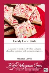 Candy Cane Bark Flavored Coffee