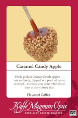 Caramel Candy Apple Decaf Flavored Coffee