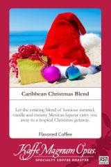 Caribbean Christmas Blend Flavored Coffee