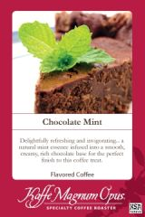 Chocolate Mint Decaf Flavored Coffee
