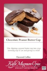 Chocolate Peanut Butter Cup Flavored Coffee