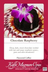 Chocolate Raspberry Flavored Coffee