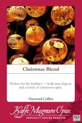 Christmas Blend SWP Decaf Flavored Coffee