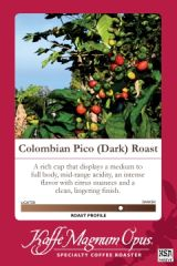 40 Pounds Colombian Pico Dark Coffee