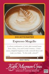 Espresso Mugello Blend Decaf Coffee