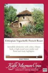 Ethiopian Yrgacheffe French Roast Coffee