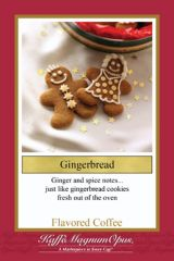 Gingerbread Decaf Flavored Coffee