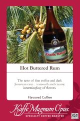 Hot Buttered Rum Flavored Coffee