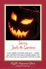 Jazzy Jack-o-Lantern Flavored Coffee