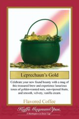 Leprechaun's Gold Flavored Coffee