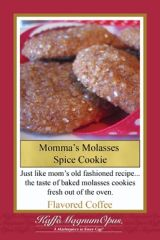 Momma Molasses Spice Cookie Flavored Coffee
