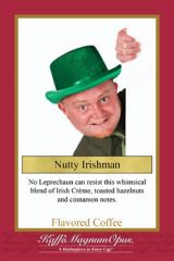 Nutty Irishman Flavored Coffee