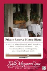 Private Reserve House Blend Coffee