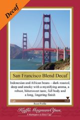 San Francisco Blend Decaf Coffee