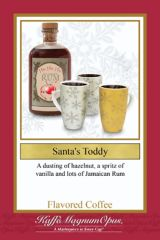 Santa's Toddy Decaf Flavored Coffee