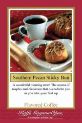 Southern Pecan Sticky Bun Flavored Coffee