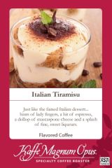Italian Tiramisu Flavored Coffee