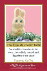 White Chocolate Wrascally Rabbit Decaf Flavored Coffee